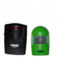 A9-nuova edizione più recente in wireless verde giardino impermeabile, carraio, garage, dependance scassinatore avviso visivo di allarme LED | 0